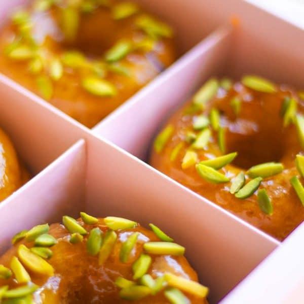 Baked Jaffa Donuts